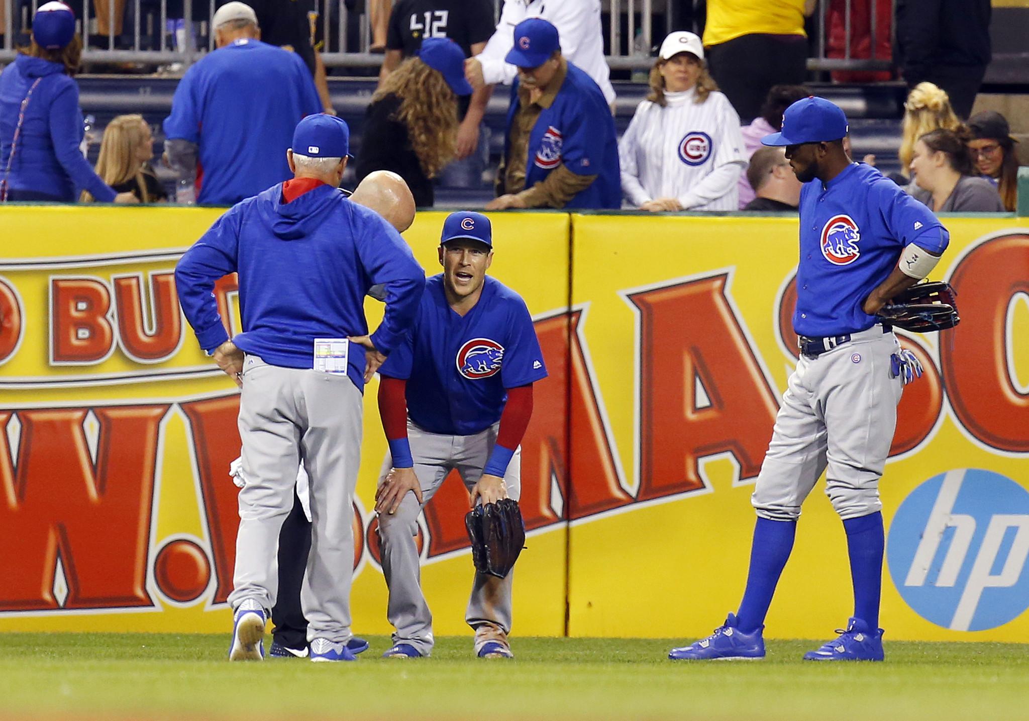 Jake Arrieta loses, but Chris Coghlan's left ankle bigger concern for Cubs - Baltimore Sun