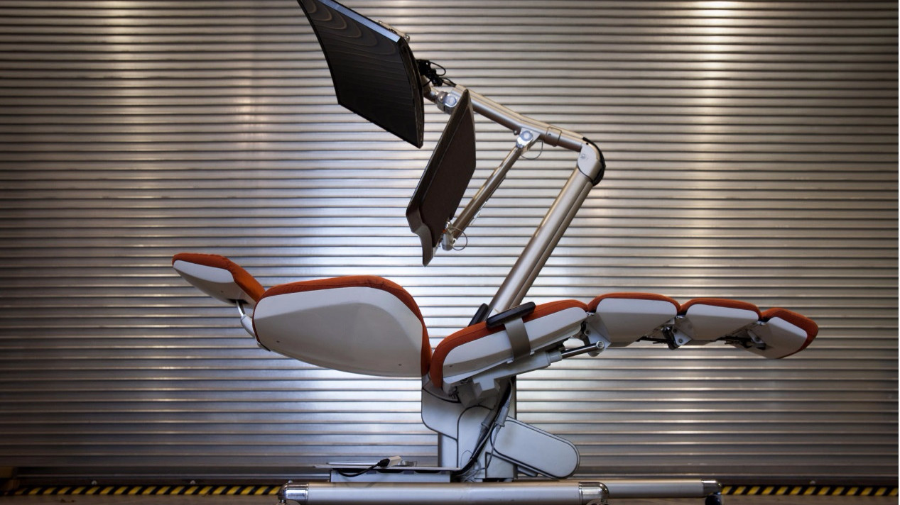 This  5 900 chair may be the tech world s new key to productivity   LA TimesThis  5 900 chair may be the tech world s new key to productivity  . High Tech Arm Chairs. Home Design Ideas