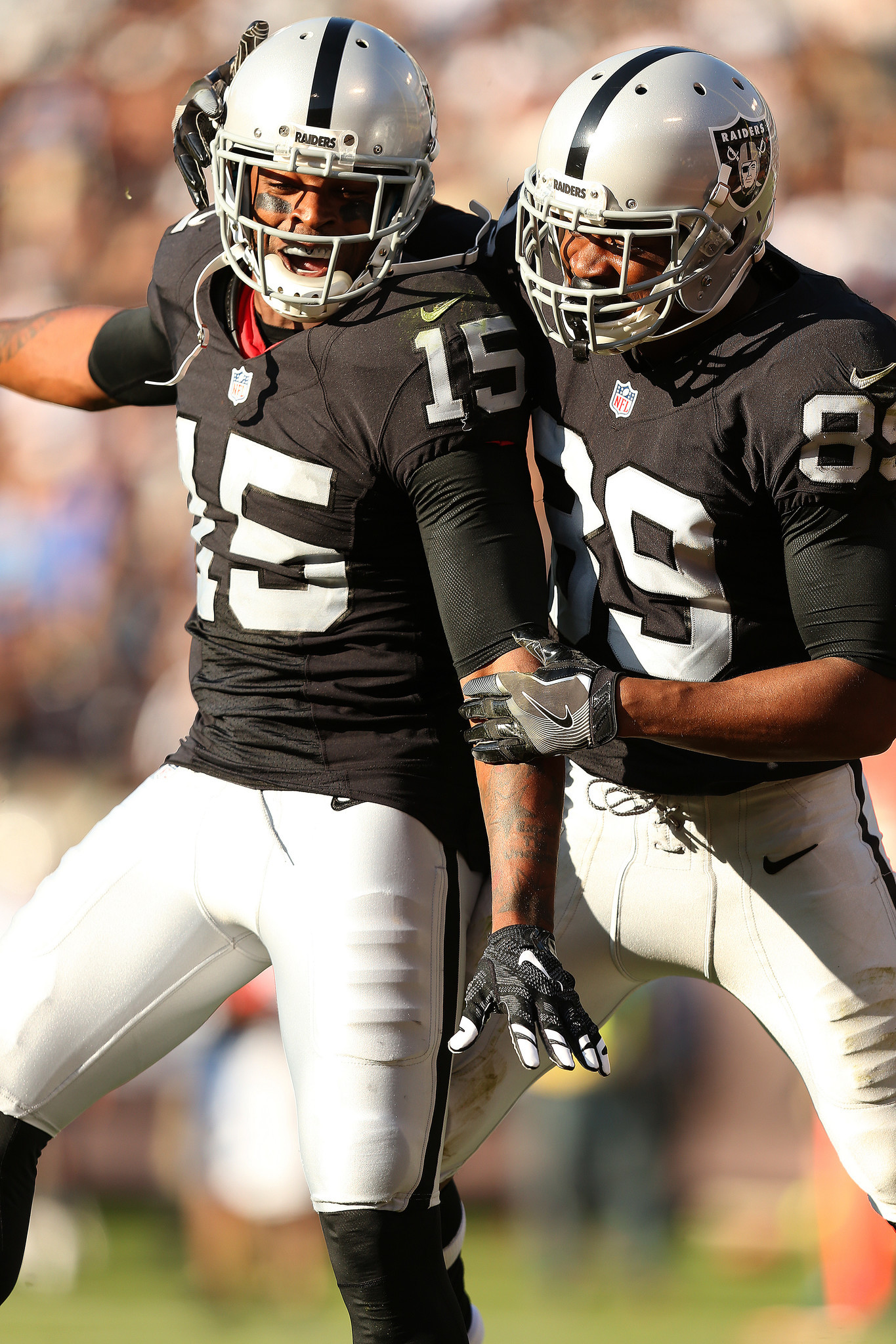 Containing Raiders receivers Amari Cooper Michael Crabtree a key