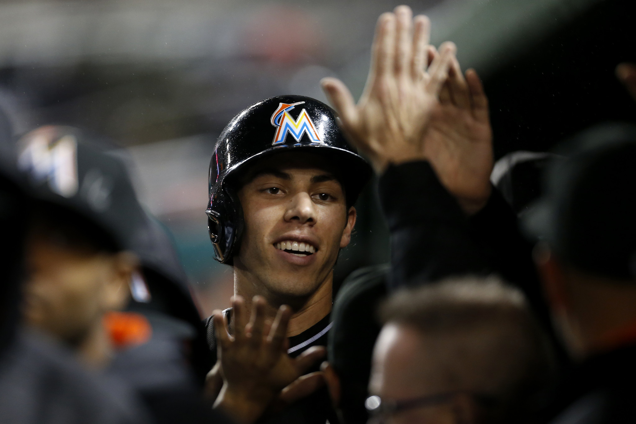 Christian Yelich homers again in Marlins' win over ... Christian Yelich