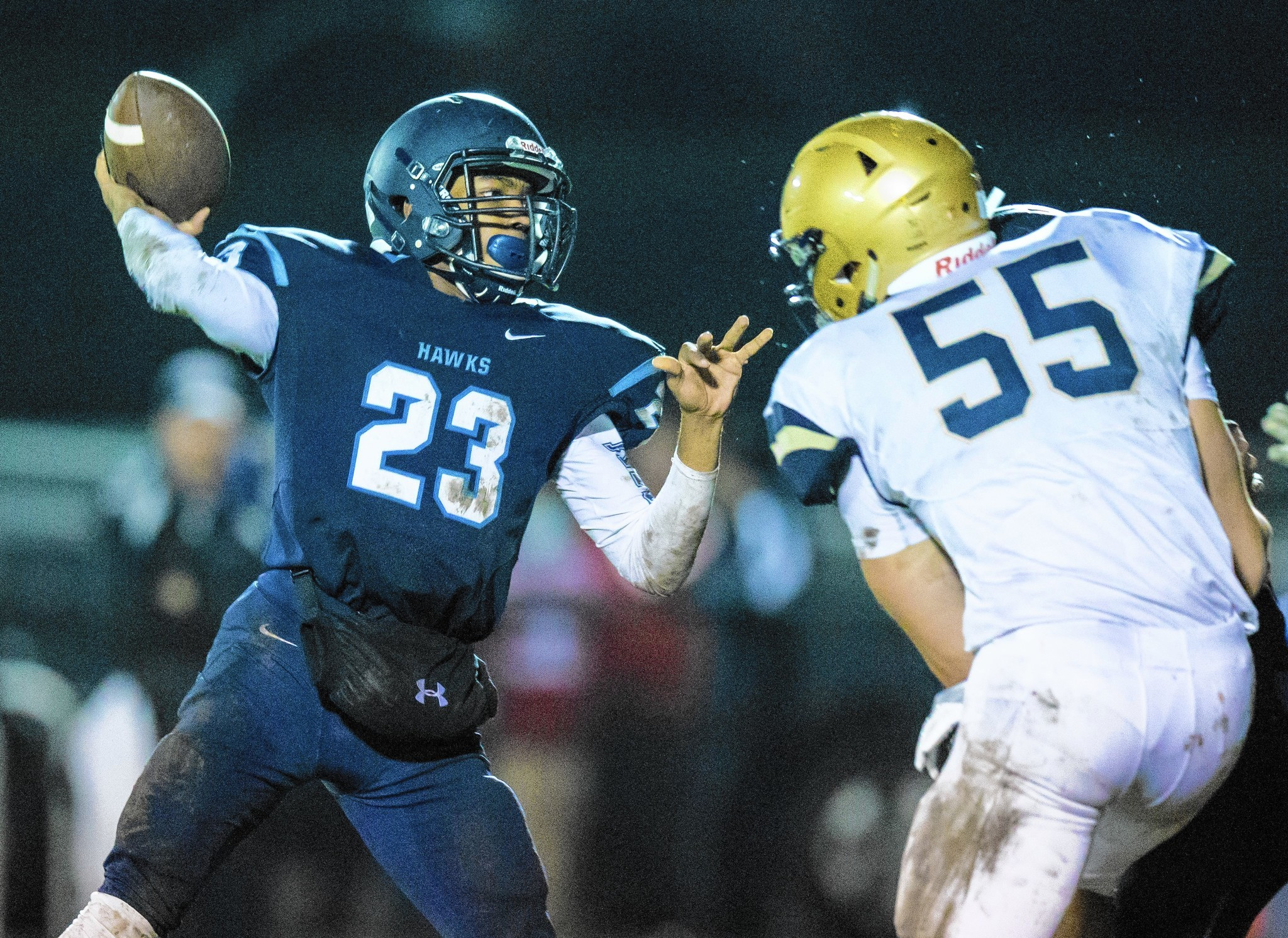 air force bound jordan brown stands tall to lead lemont past