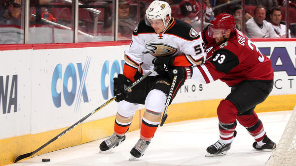 Ducks Clipped By Coyotes, 3-2, In Overtime