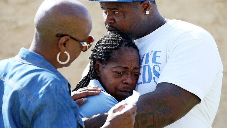 Mother mourns son shot by police