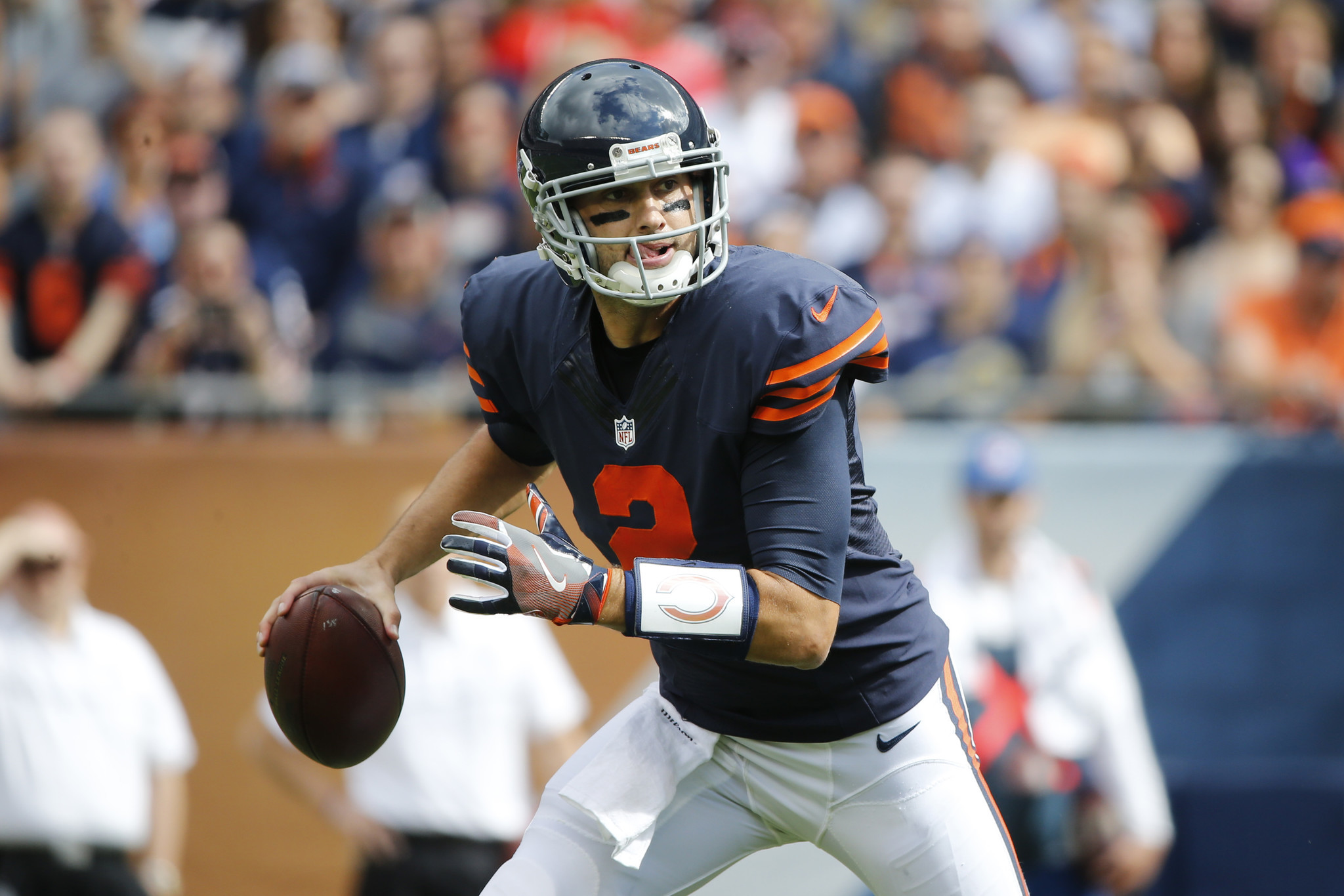 Brian Hoyer leads Bears to 1st win, but backup role still suits ...