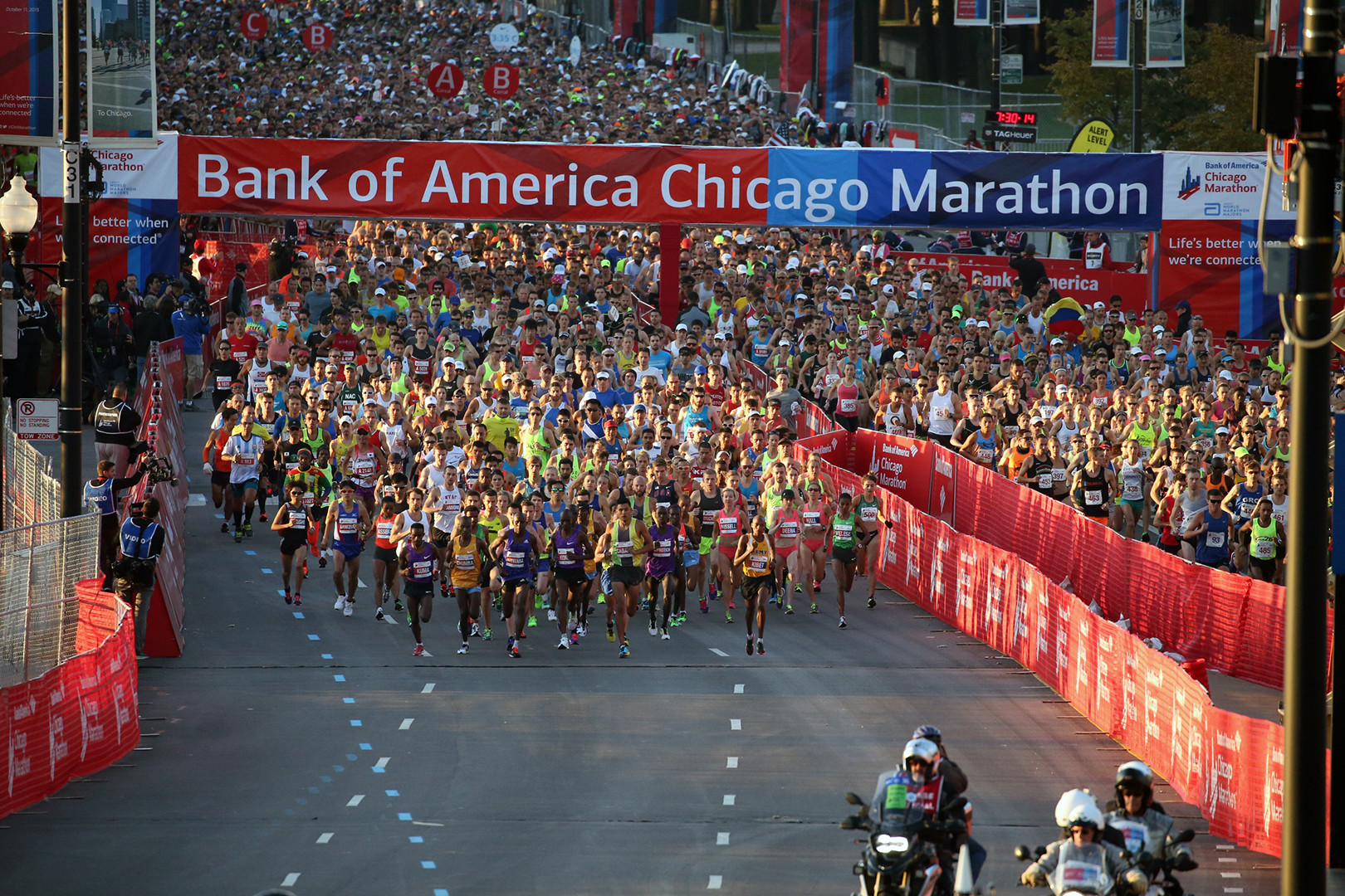 Chicago Marathon Map Details For The 2016 Edition Chicago Tribune