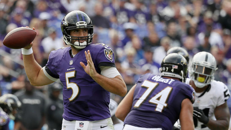 Ravens' Flacco: 'We're just not there'