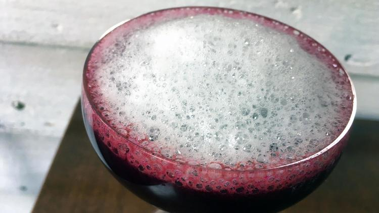cryogenic food news - Cocktails with a side of science