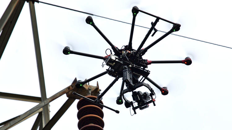 Pictures: Dominion Shows How They Use Drones