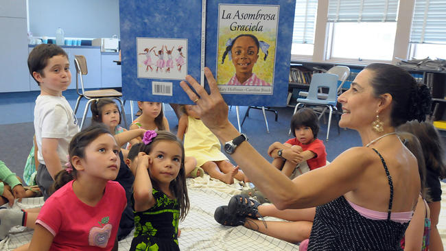 Is the issue of teaching bilingualism in schools really an issue that I can write about?