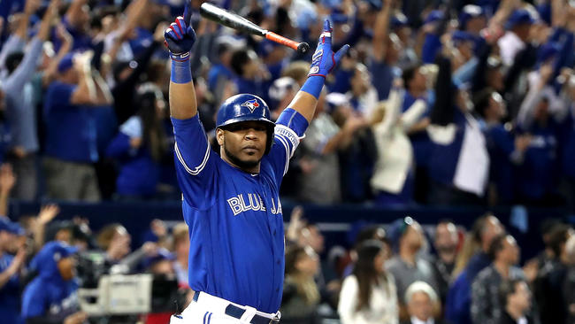 Image result for edwin encarnacion walk off