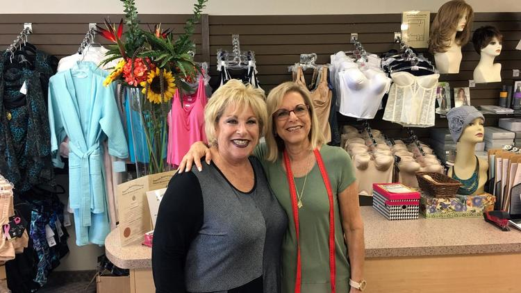 Andrea and Merri in the shop! Picture by Joanie Cox-Henry/Forum Publishing Group.