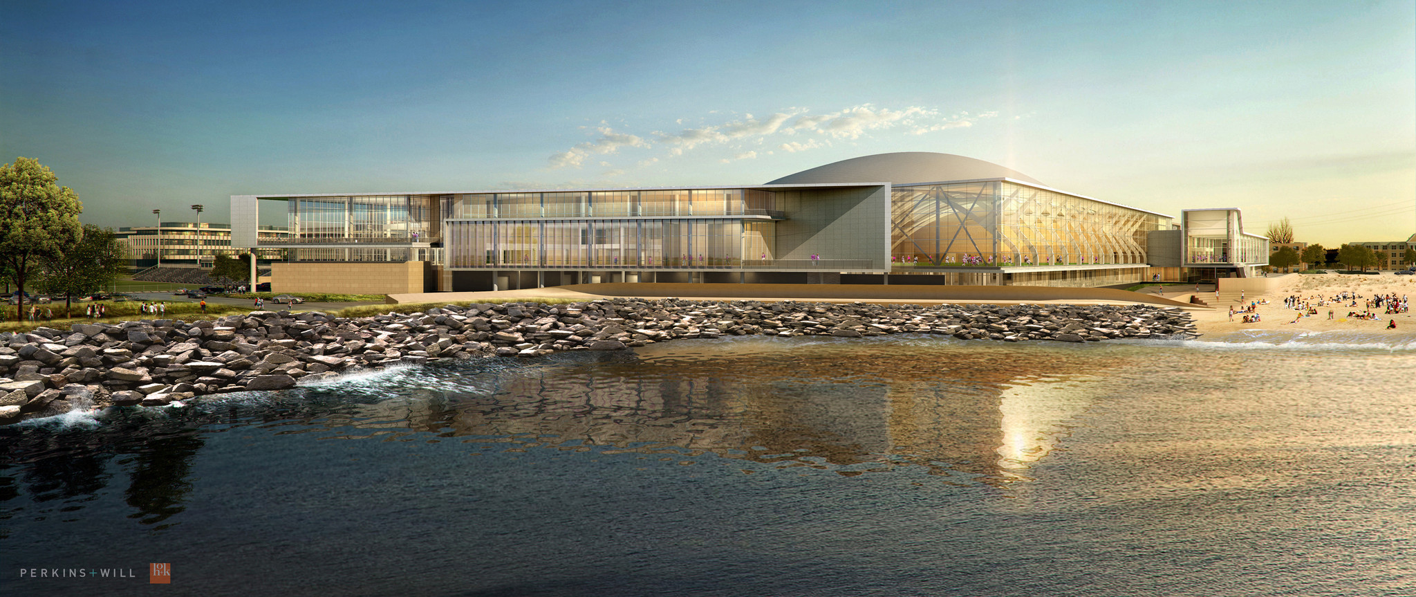 Northwestern to break ground on Lakefront Athletics Center