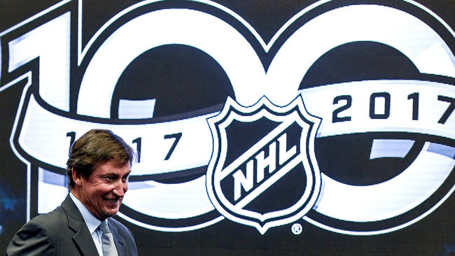 A Fine Skate Of Affairs For NHL's 100th Anniversary