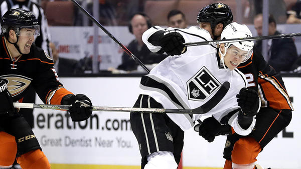 Prospect Adrian Kempe Remains In The Mix To Make Kings Roster