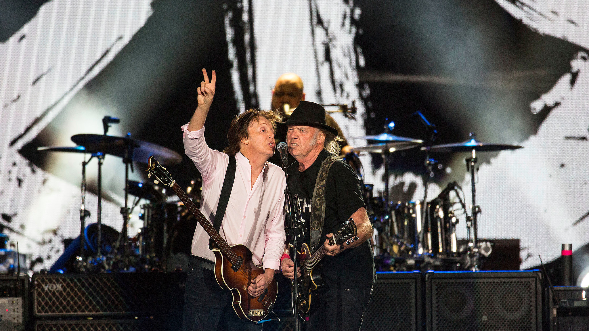 Paul McCartney brings out Neil Young — and a lifetime of indelible songs — at Desert Trip