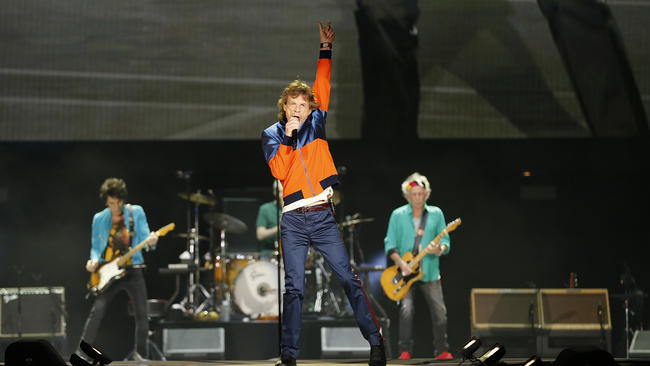 The Stones brought their A-game, or so we are told....