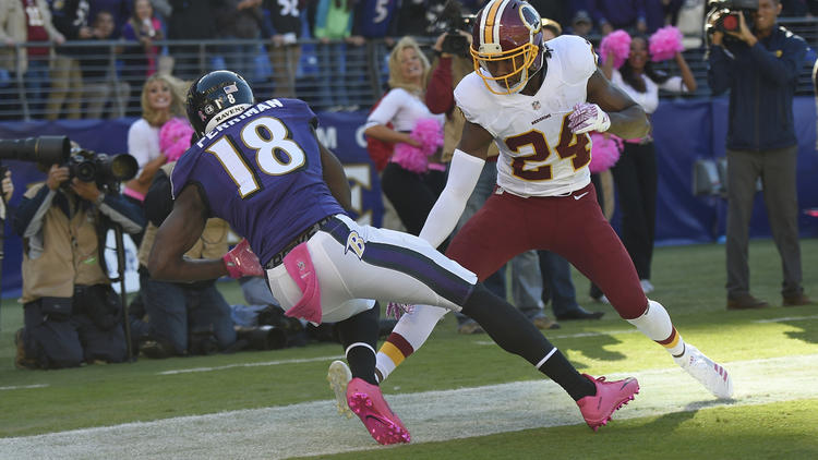 Ravens vs. Redskins photos