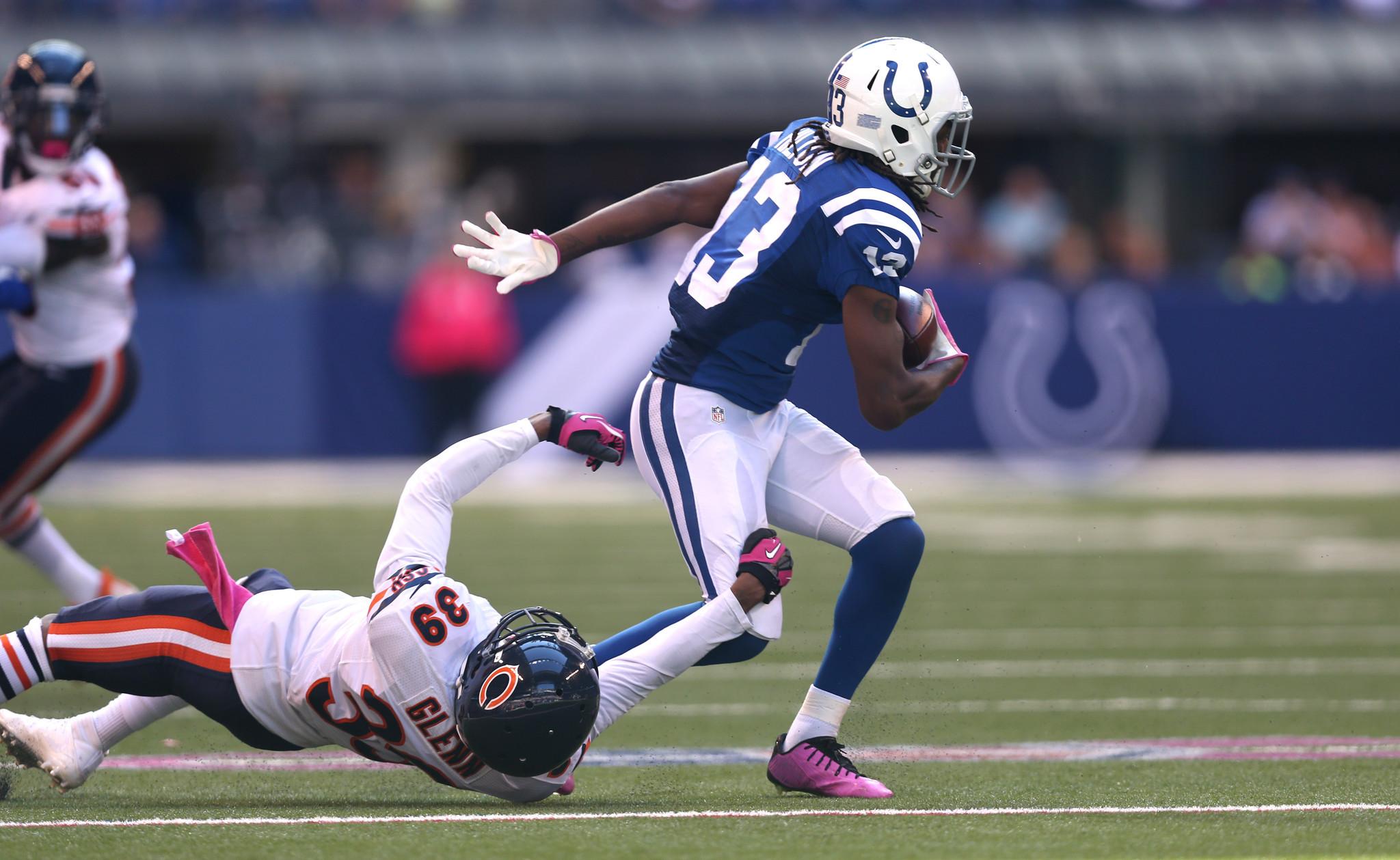 Colts T Y Hilton burns inexperienced Bear Jacoby Glenn Chicago