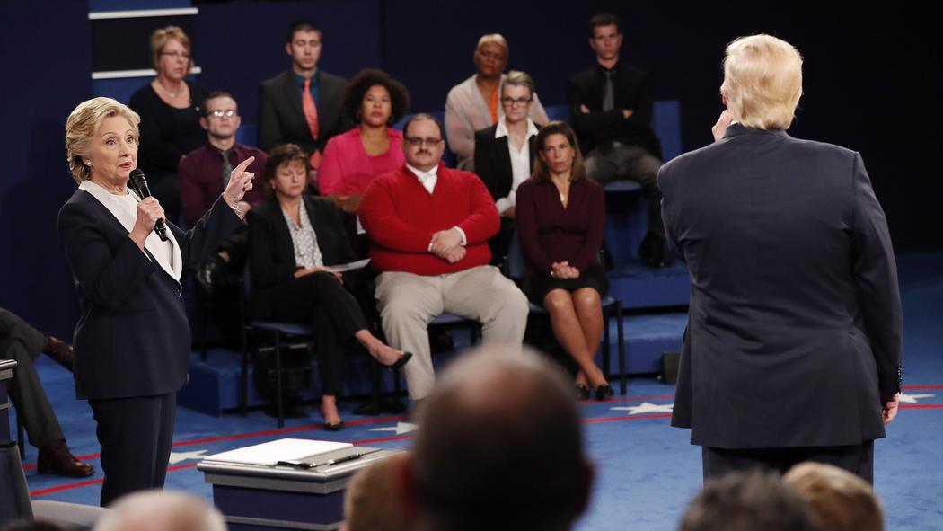 Hillary Clinton and Donald Trump. (Rick T. Wilking / European Pressphoto Agency)