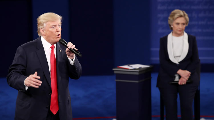 nation politics trailguide second presidential debate live with looming donald trump story