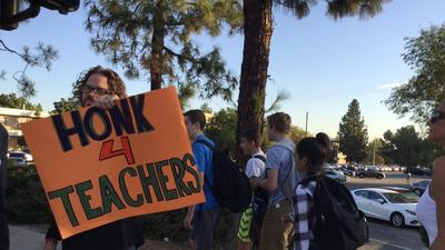 L.A. Unified backs down and agrees to provide lifetime benefits to charter school teachers