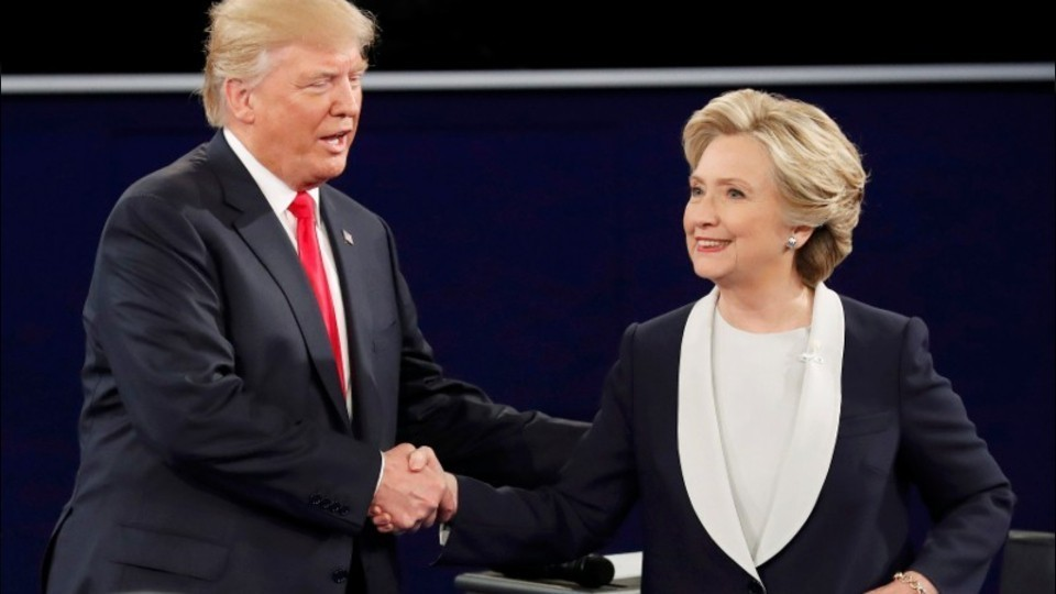 Highlights, reaction from the second Trump, Clinton ...