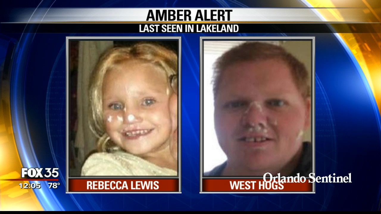 Amber Alert For Missing  Year Old Lakeland Girl Orlando News Now Orlando Sentinel