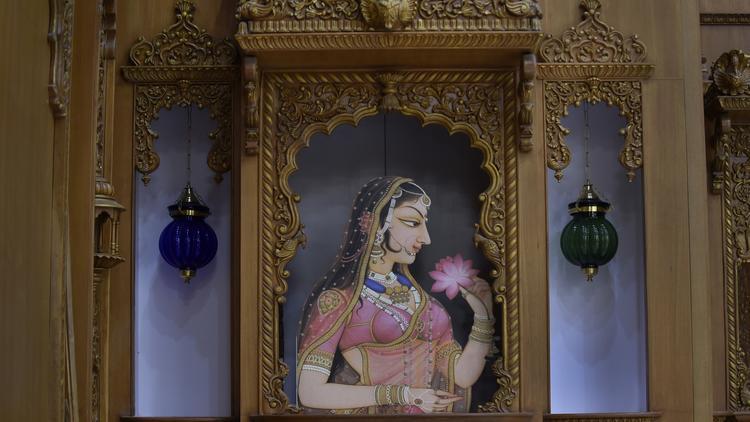 Vallabhdham Temple