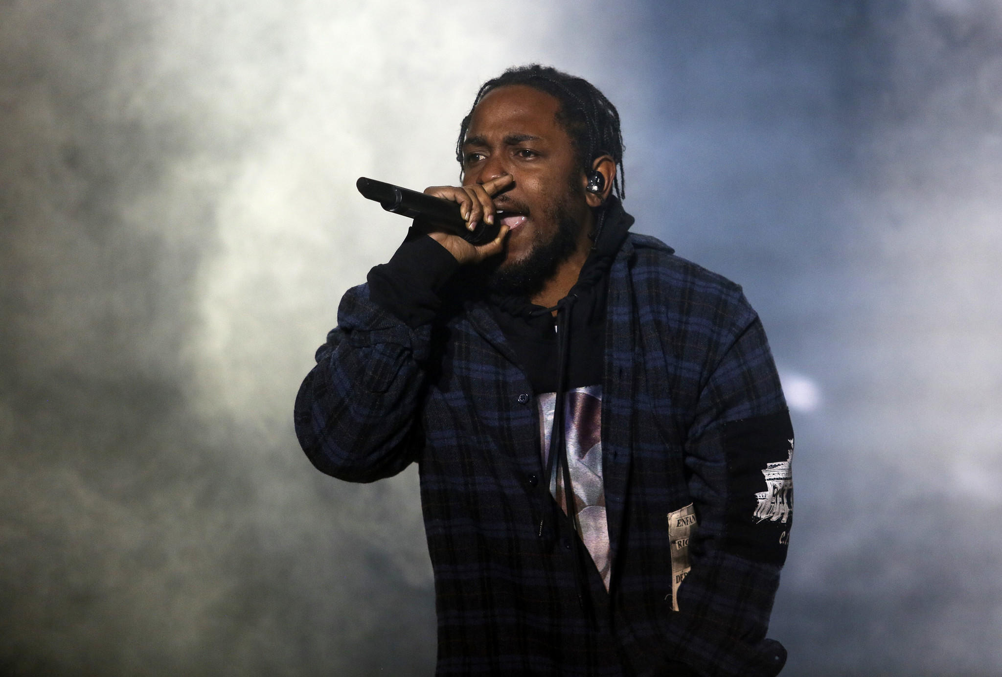 Kendrick Lamar (Jack Plunkett / Invision/AP Photo)