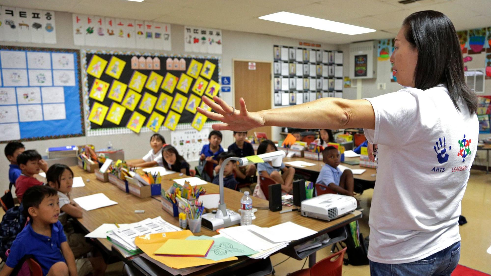 A bilingual education measure is before California voters.