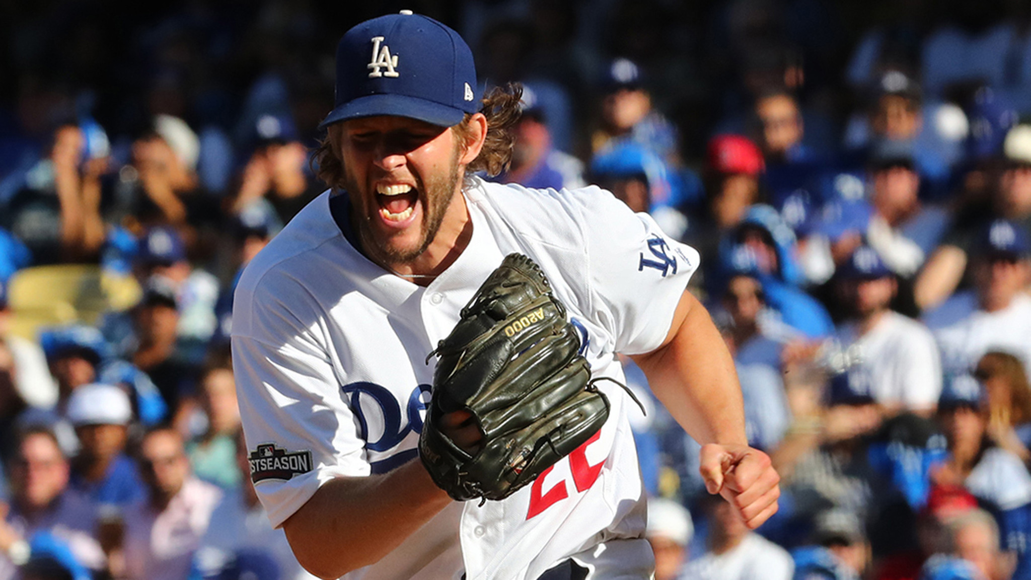 Dodgers' Clayton Kershaw is not available for Game 5 of NLDS (3.14/44)