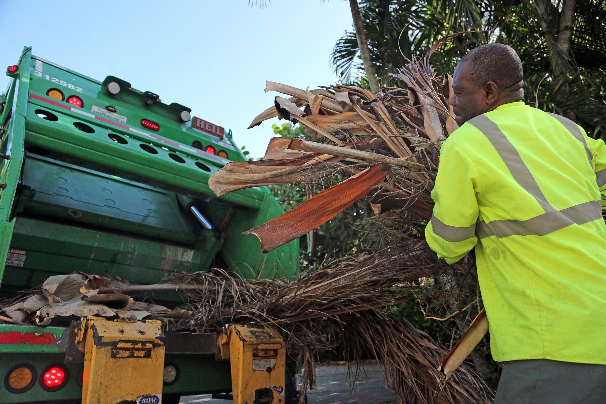 After Matthew Trash Haulers Still Face Abundance Of