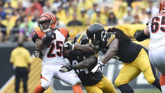 Pittsburgh Steelers #43 Troy Polamalu Black Pullover NFL Hoodie