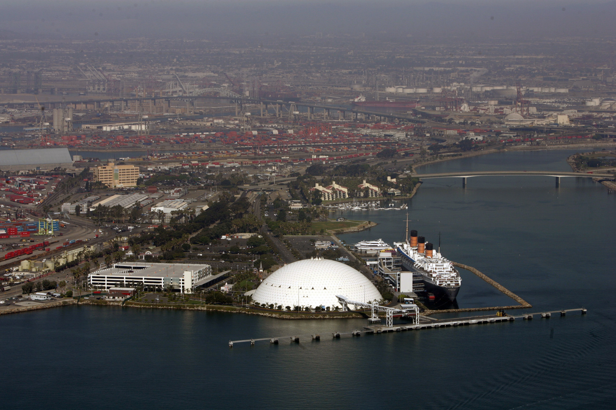 Carnival Is Set To Take Over The Spruce Goose Dome Expanding Its Long Beach