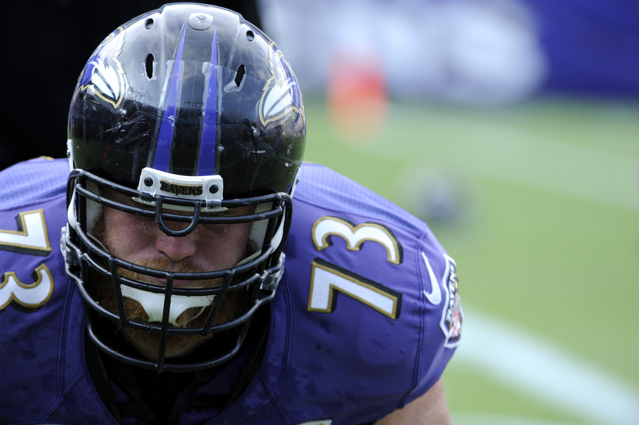 Ravens deactivate injured offensive linemen Marshal Yanda and