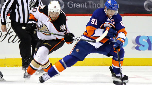 Ducks Fall Again On The Road, 3-2 In Overtime To The Islanders