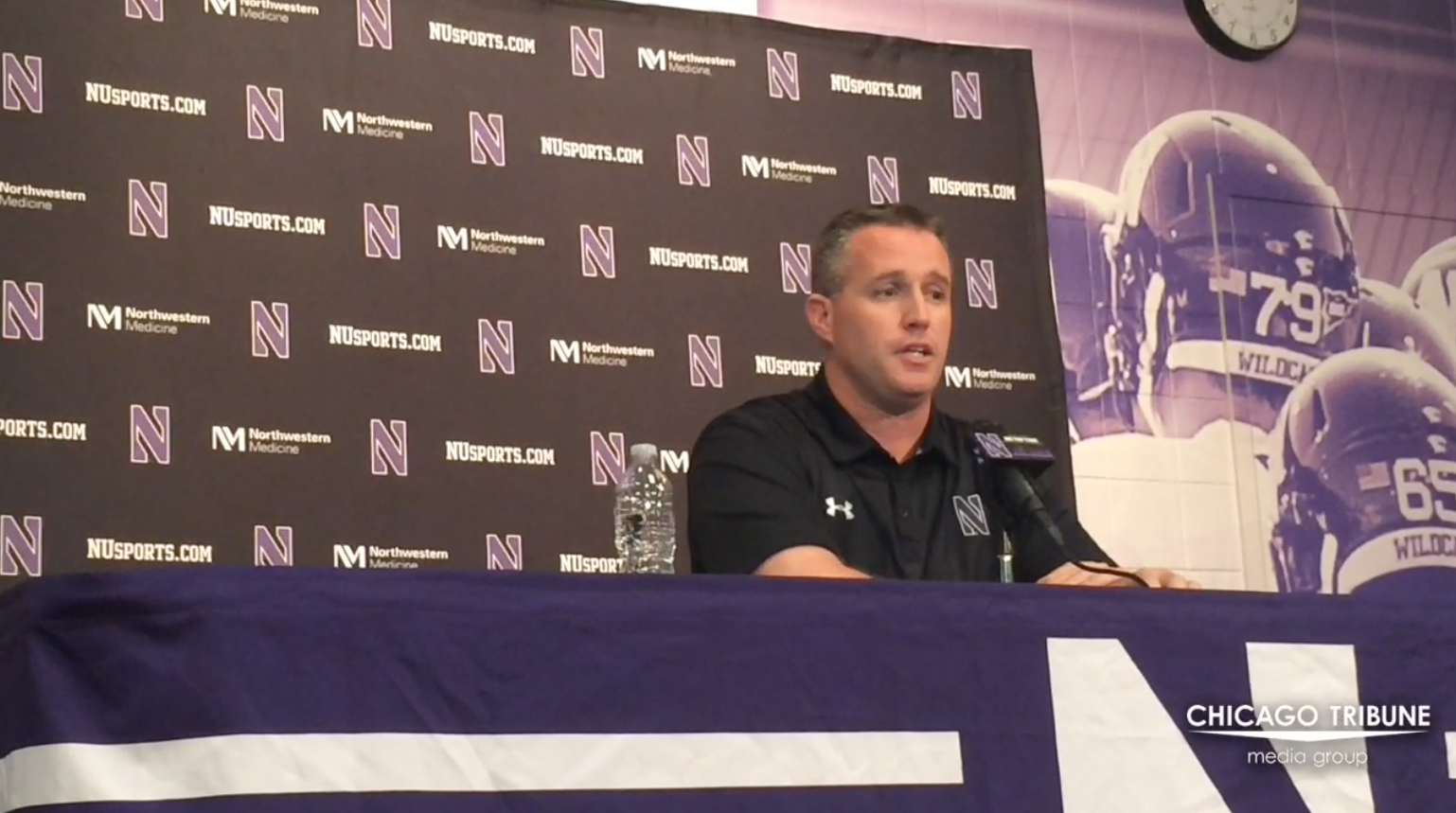 Ct-pat-fitzgerald-on-northwestern-s-gameplan-vs-indiana-20161017