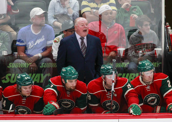 Winless Kings Prepare To Face Minnesota Wild And Former Ducks Coach Bruce Boudreau