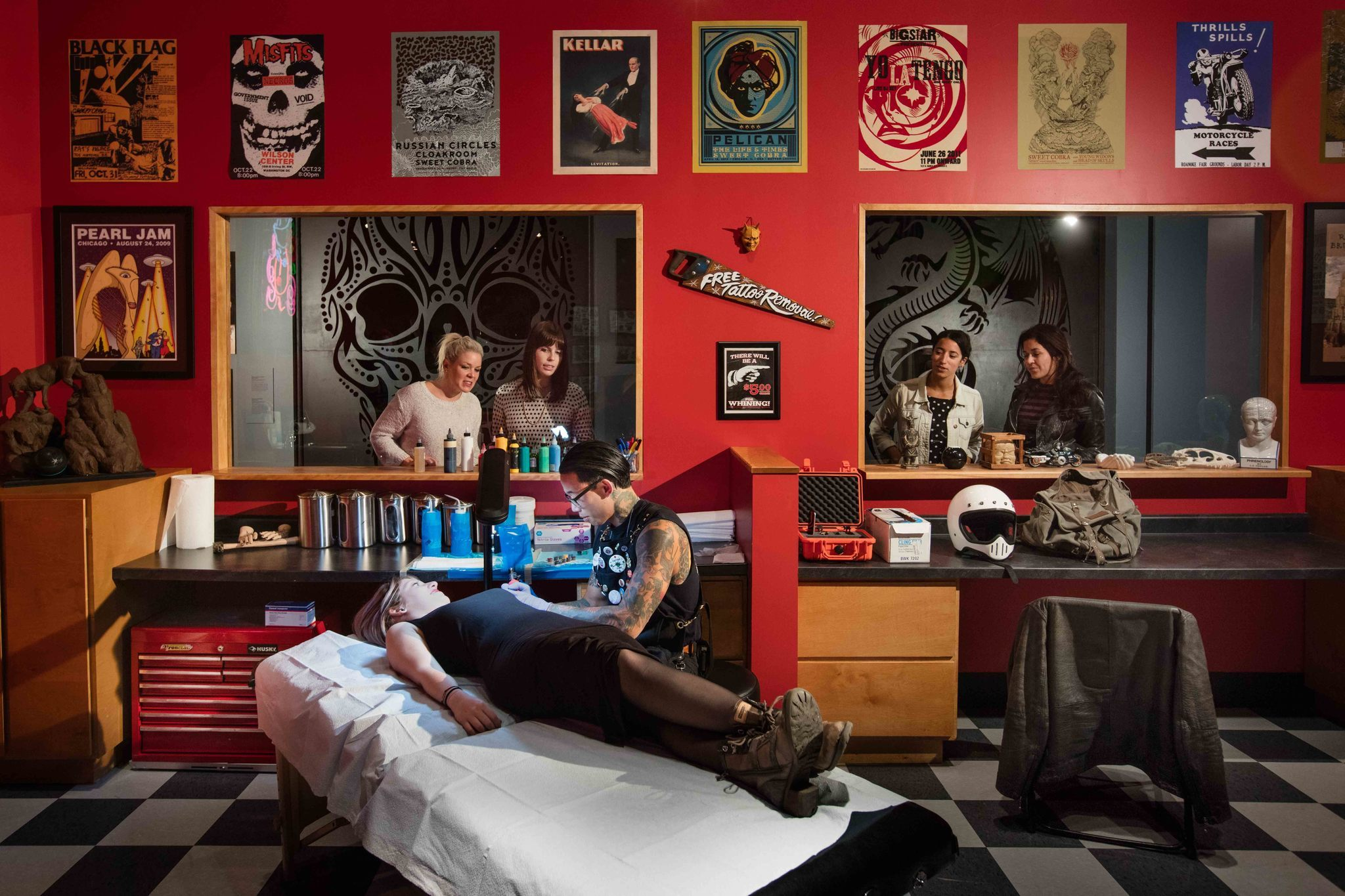 Tattoo Shop Temporarily Coming To Field Museum Chicago Tribune