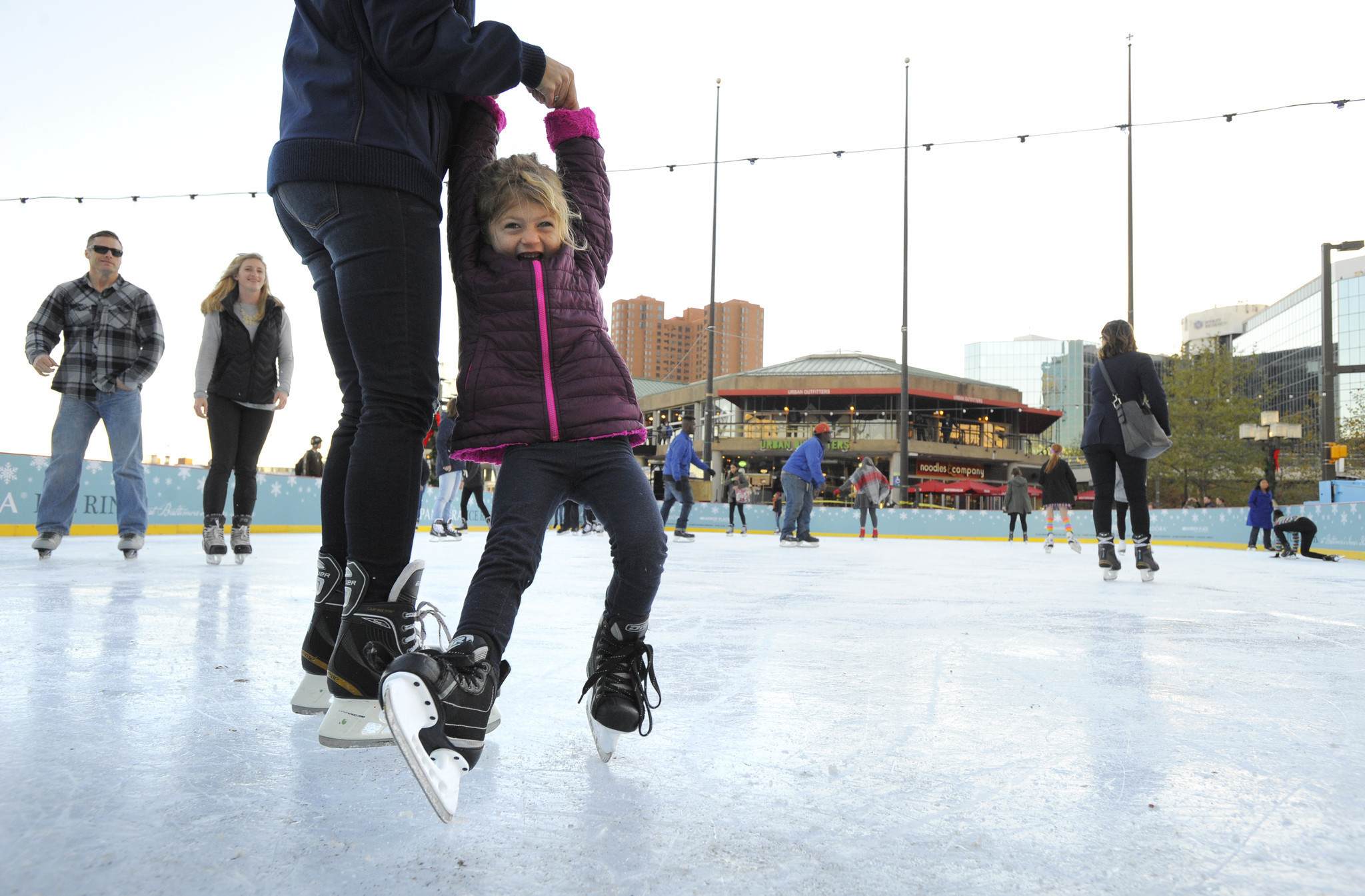 Roller skating rink in maryland - Baltimore Ice Rink Returns To Inner Harbor This Weekend Baltimore Sun