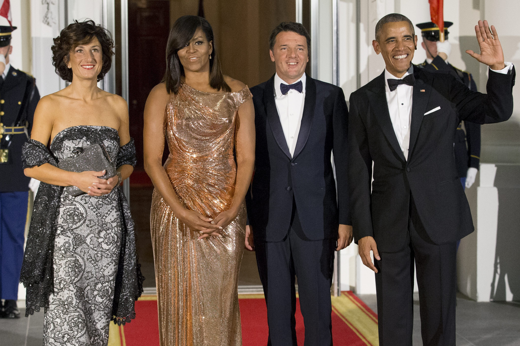 President obama honors italy in bittersweet final state dinner chicago tribune