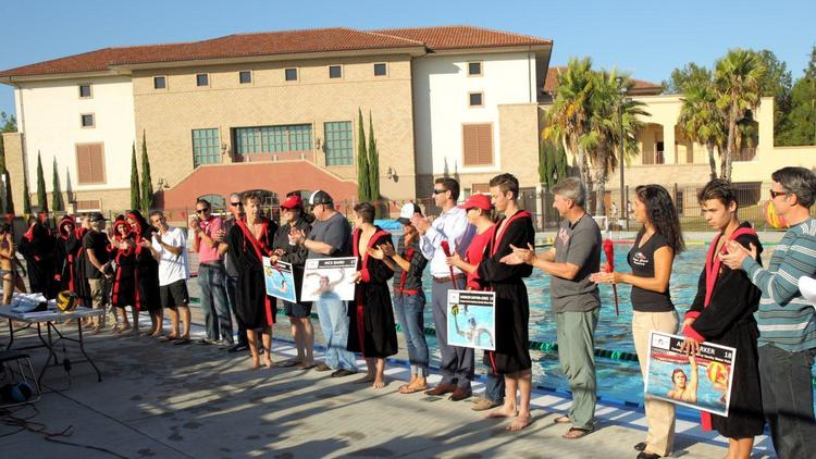 CCA Waterpolo Senior Recognition