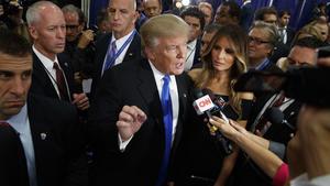 Donald Trump vs. the lying media