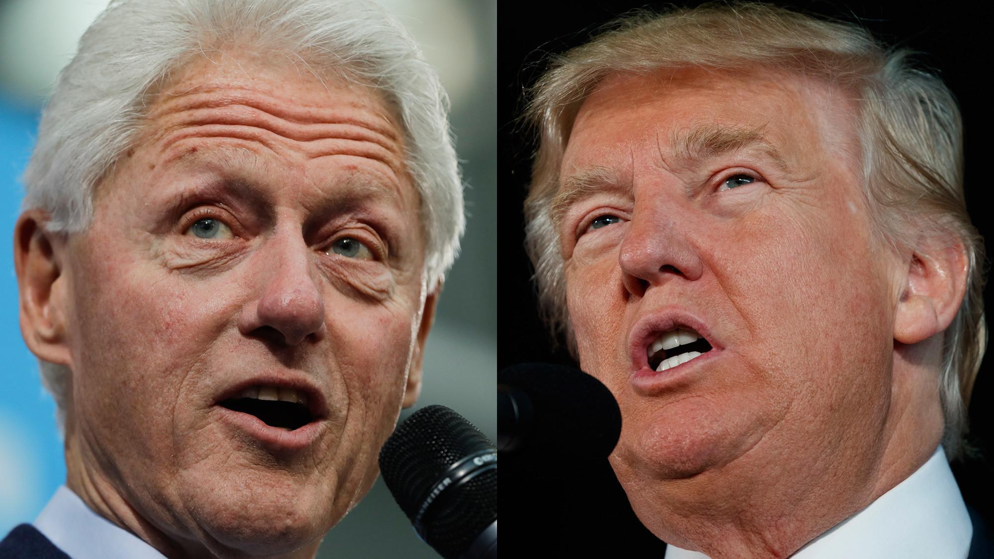 politics trump clinton allegations snap story