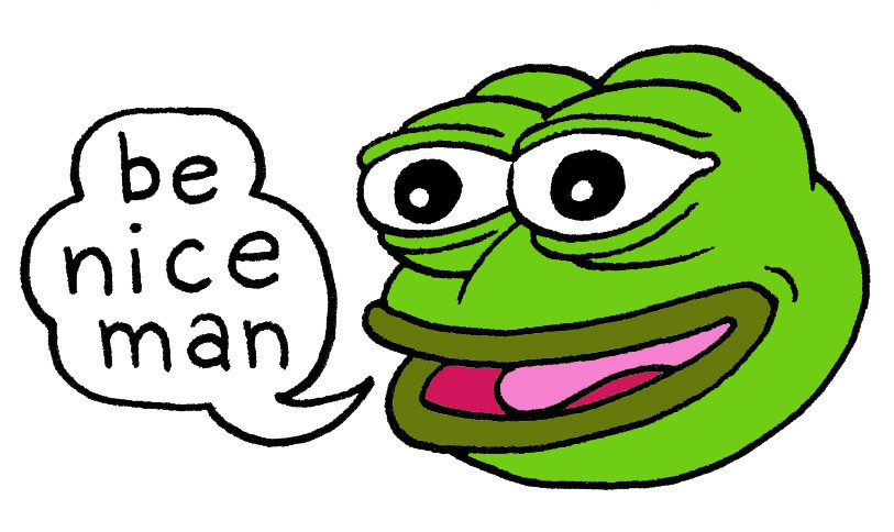 Pepe the Frog, the cartoon character unwittingly transformed into a symbol of hate.