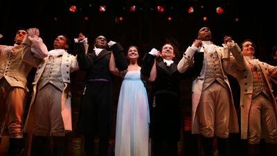 'Hamilton' opens in Chicago with Miranda, Seller and a standing ovation