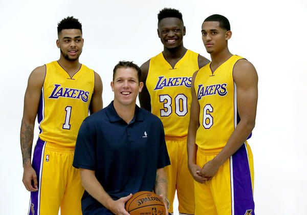 look at Lakers'... Lakers Roster