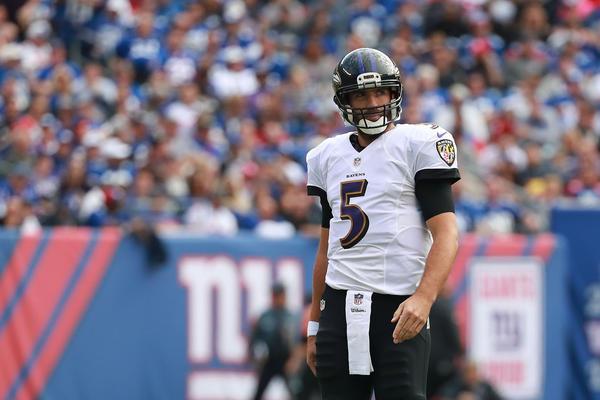 Quarterback Joe Flacco missing again from Ravens practice on Thursday