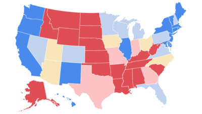 After Decades Of Republican Victories Heres How California - 1988 us electoral map