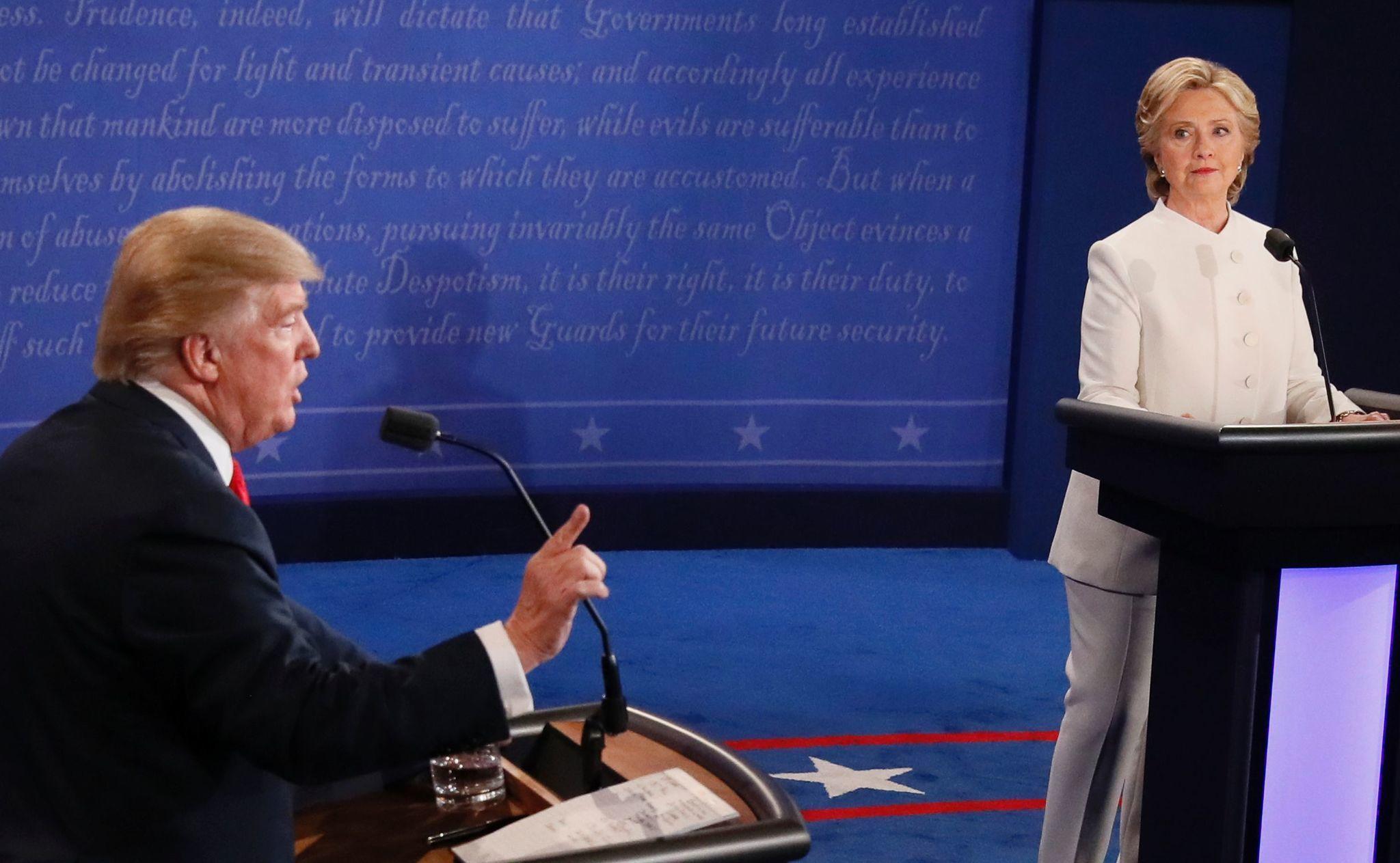 Kibitzing the third and final presidential debate - Chicago Tribune 561965928